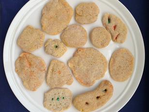 [Resident A] handmade dough; Flour, oil, turmeric and salt; dimensions varied,  July 2020