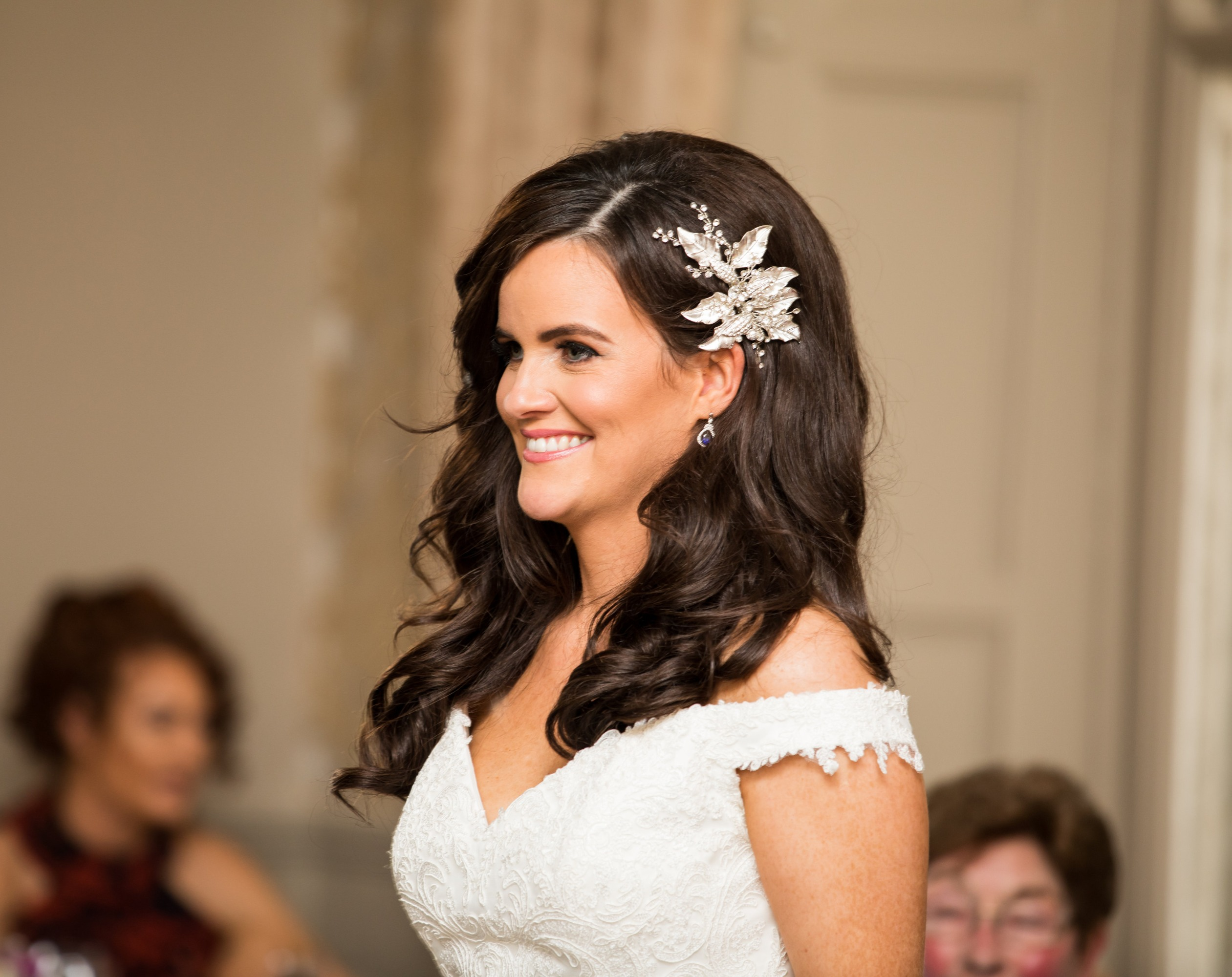 glam wedding hairstyle
