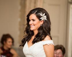 glam wedding hairstyle