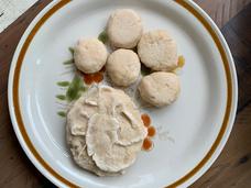 [Mr Lai Hak Nan] My Mother's Fish Ball, Flour, salt, water, 25cm x 20cm