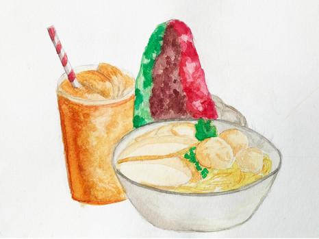 My Comfort Food - Fishball Noodles, Lim Rou Hsuen