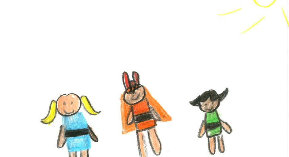 Avantika, 4yo, I am powerpuff girls, Hero Self