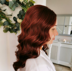 glam waves hairstyle