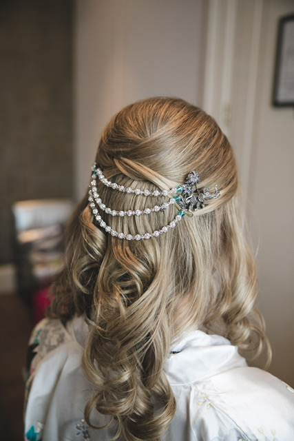 casual bridal hair