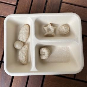 [Lam Tak Yin Else], Japanese Oden, dumplings, clay dough, varied