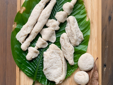 [Mr Mohamed Ismail Bin Mohd] Satay and Other Local Favourites,  Flour, salt and water, Dimensions varied