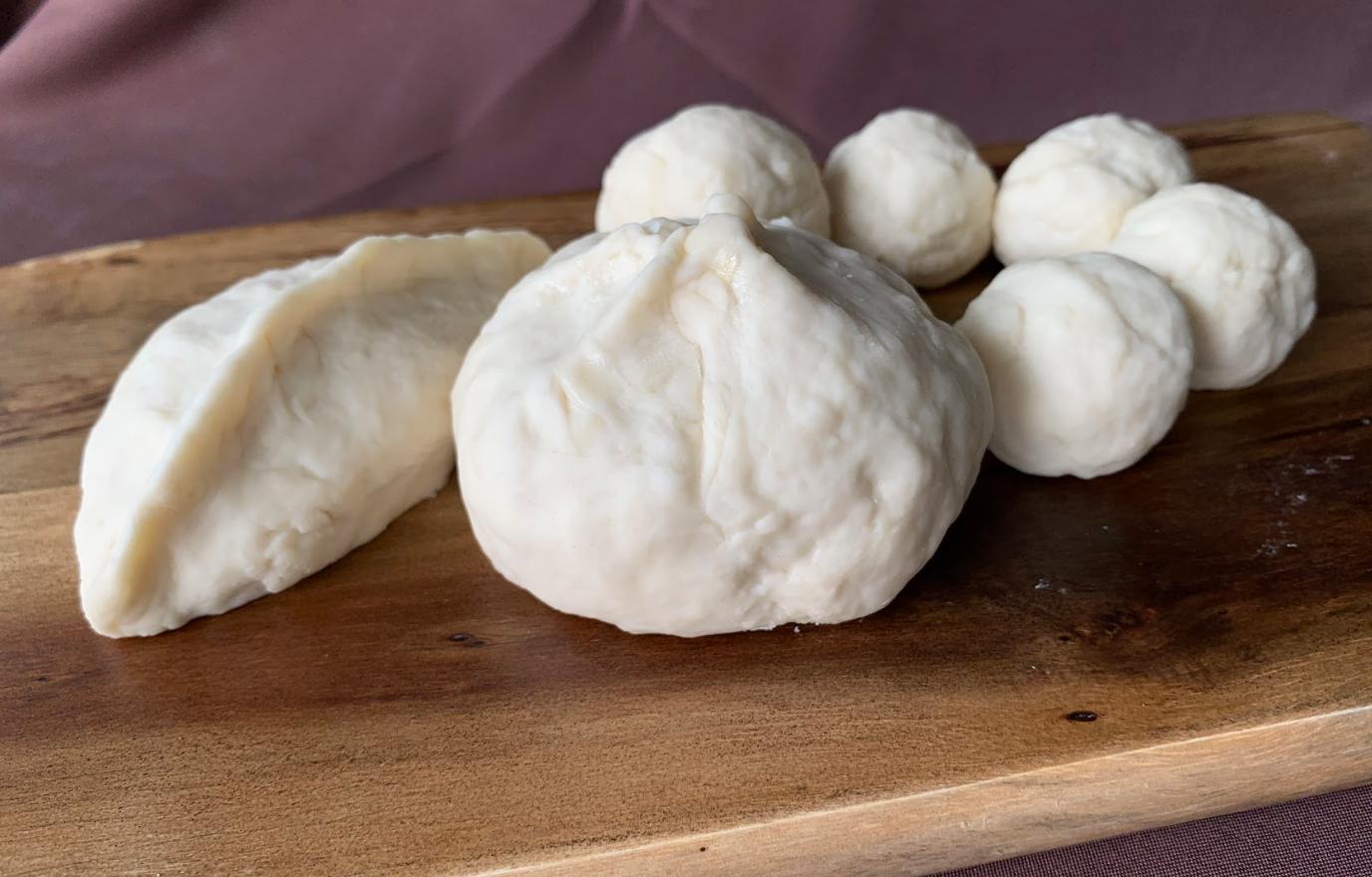 [Mdm Wong] Ka Li Pok, Bao and Agar-Agar, Flour, Salt and Water, Varied Dimensions