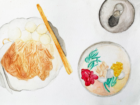 My Memories with Fishball Noodles -Tiffany Poon