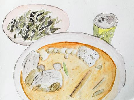 How I Grew to Enjoy Fish Head -Ng Yi Ler  Curry -