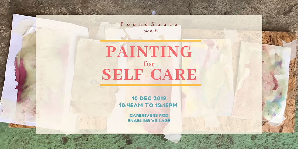 Painting for self-care