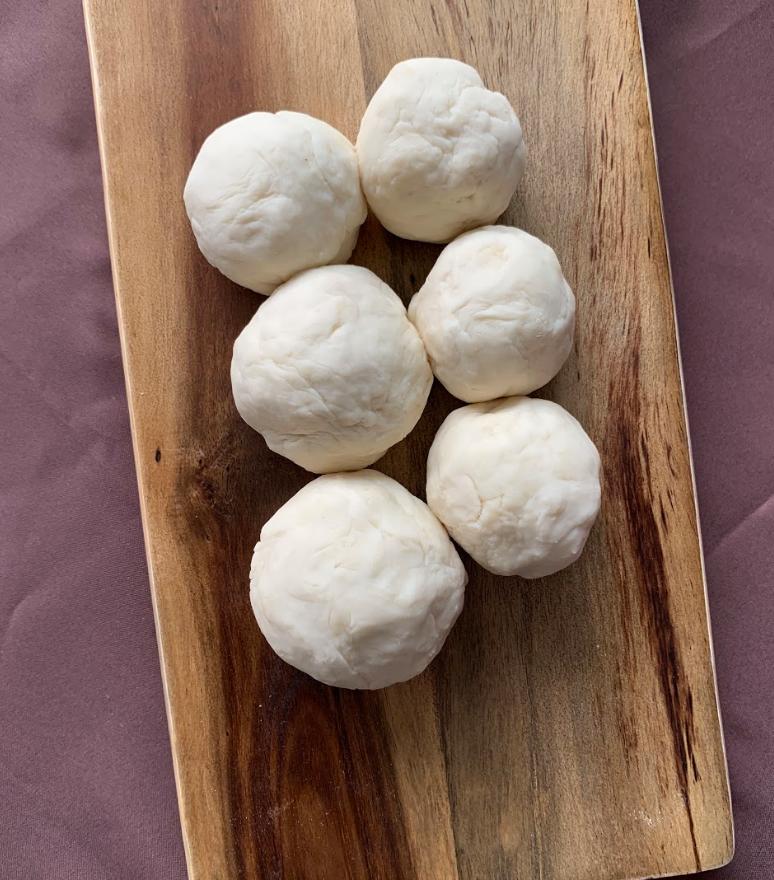 [Mdm Chua] Fish Balls, Flour, Salt and Water, Varied Dimensions
