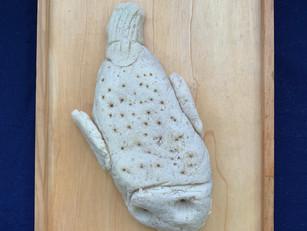 [Mdm Celine Yeo] Fish, flour, salt, oil and warm water, dimensions varied, July 2020