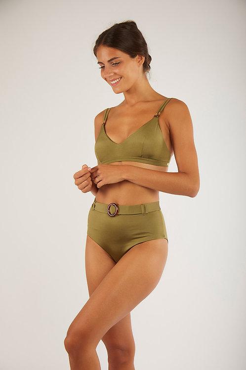 BANANA MOON - Top Bralette Verde