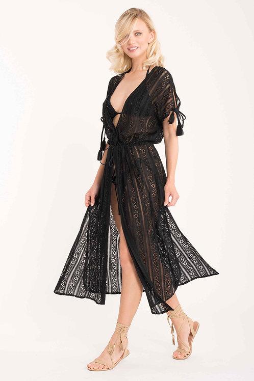 ICONIQUE - Kimono nero