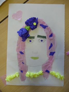 Primary Self Portrait