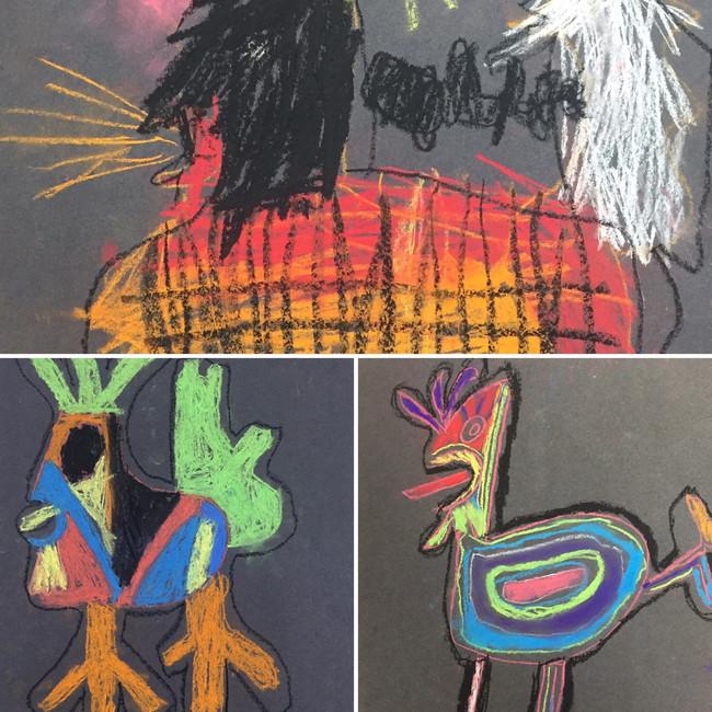 Picasso's bird (Primary)