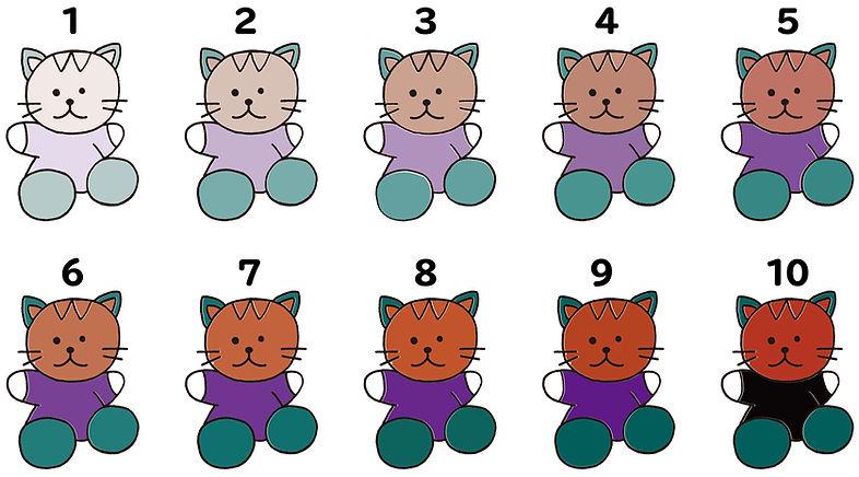 Q&A猫イラスト