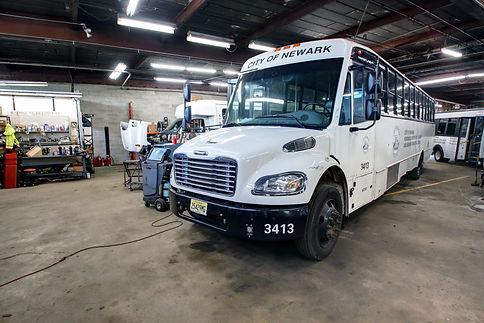 Newark bus repair