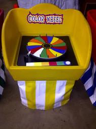 Color Wheel Bucket Game