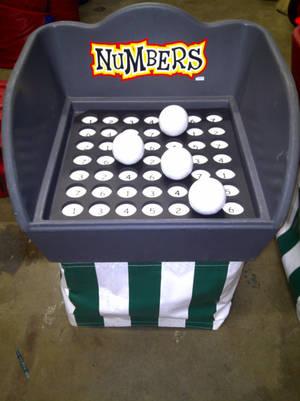 Numbers Bucket Game
