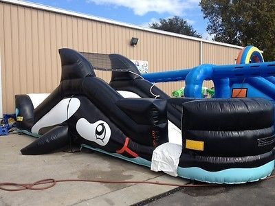 inflatable whalen water slide_1