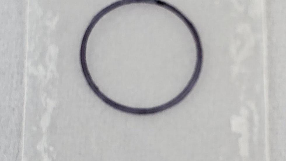 5.00 mils/127.48 um frameless plastic calibration shim with ISO Certification