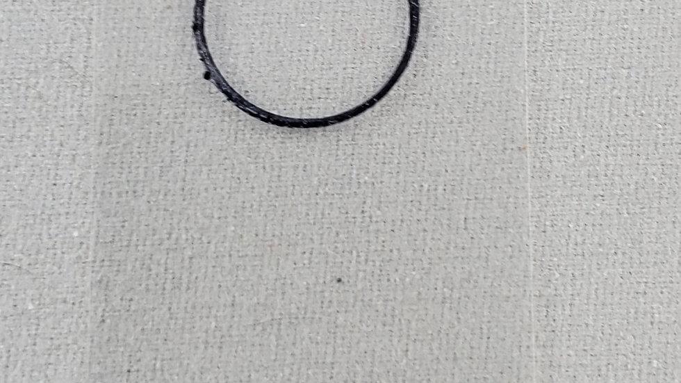 2.00 mils/50.98 um frameless plastic calibration shim with ISO Certification