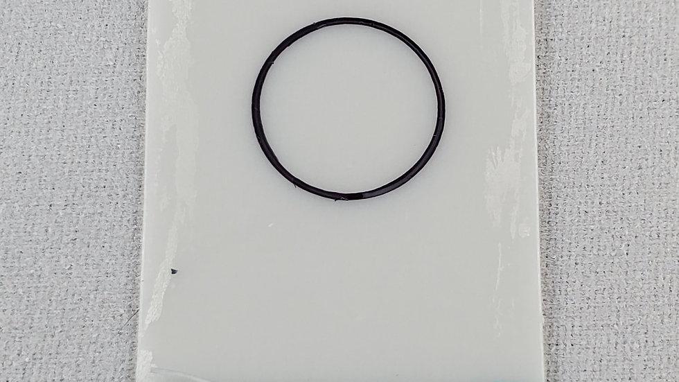 10.00 mils/254.90 um frameless plastic calibration shim