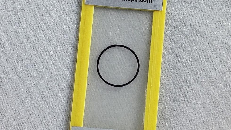5.00 mils/127.48 um plastic calibration shim
