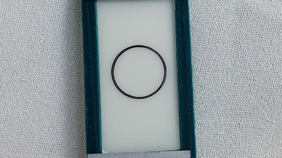 10.00 mils/254.90 um plastic calibration shim with ISO Certification