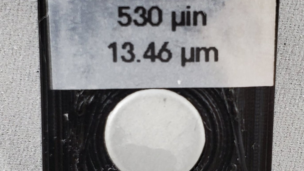 Cadmium on Copper Calibration Standard 530 microinch (13.46 micron)