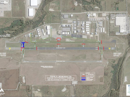 UPDATE: Denton Enterprise Airport - Runway 18L-36R Reconstruction and Taxiway A2 Realignment