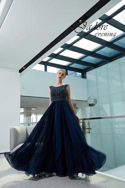 J19017 Midnight -Sheath Dress