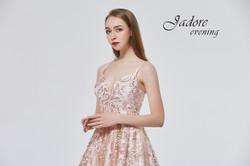 J19016 Pink Prom Dress