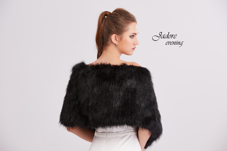 Fur002 Black Back