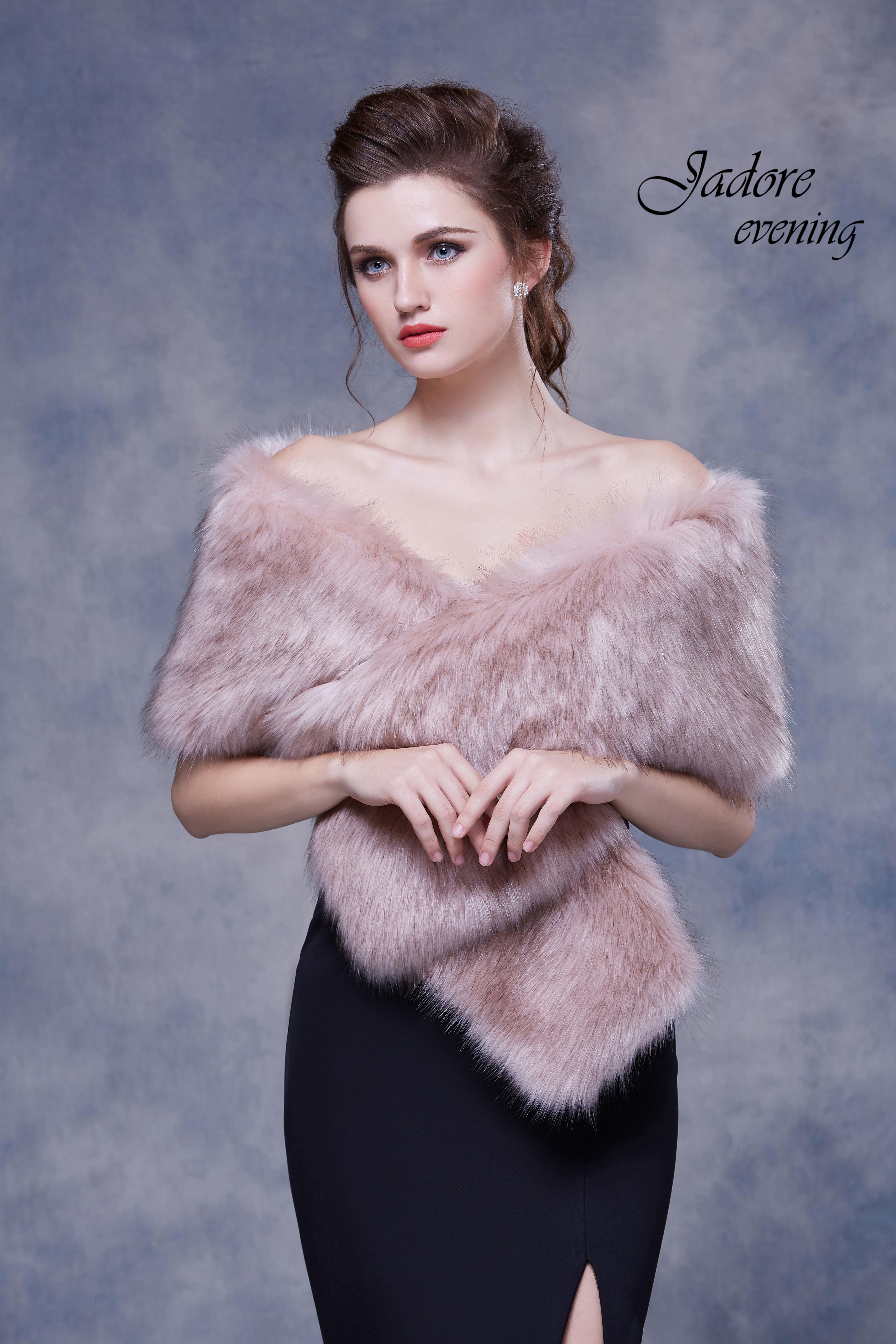 Fur001-Dusty Pink