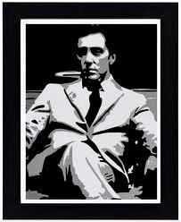 Unutulmaz film karelerinden Michael Corleone