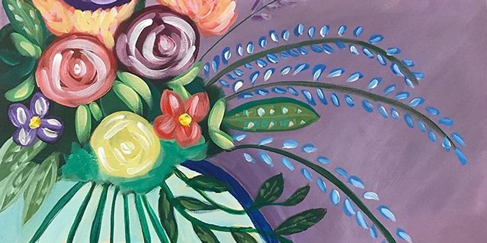 Summer Bouquet Paint Class