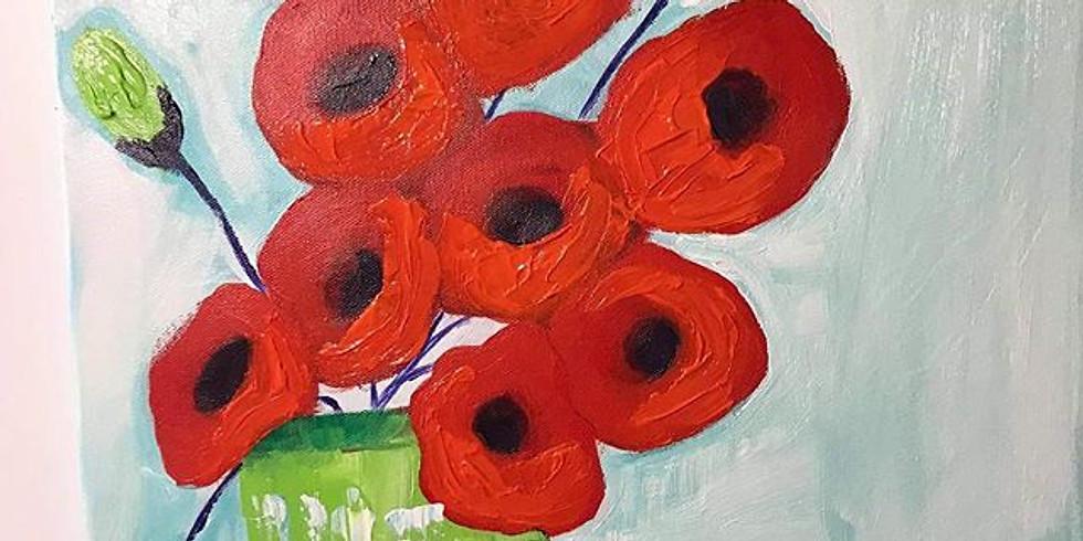 Impasto Poppies  (1)