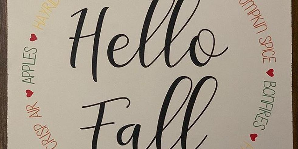 DIY signmaking class, September Fall choices (1)