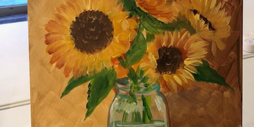 Pop Up Paint Party Jar of Sunshine (1)