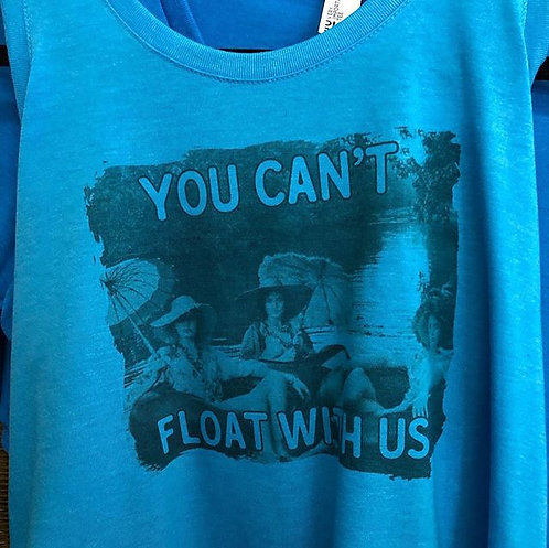 snobby floaters tank tee