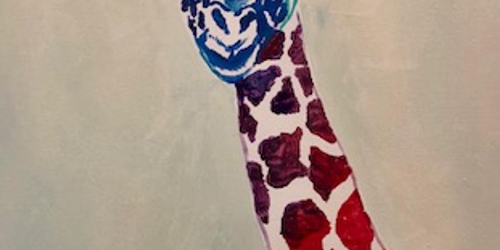 Giraffe Pop Up Paint Party   (1)