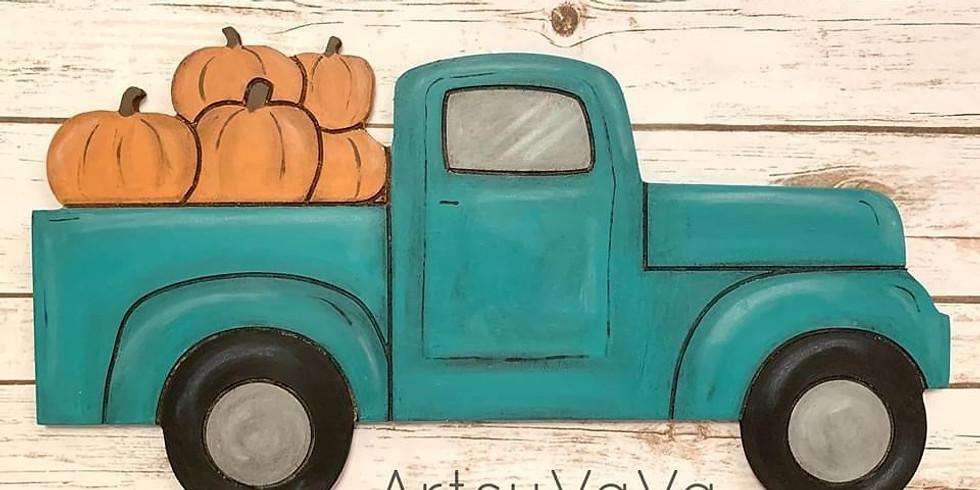 Dixie Belle Pumpkin Truck class