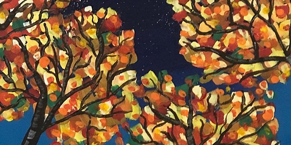 Midnight Trees Pop Up Paint Party  (1)