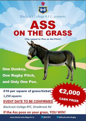 'Ass on the Grass' Fundraiser