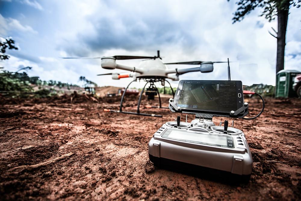 Microdrones mdMapper drone