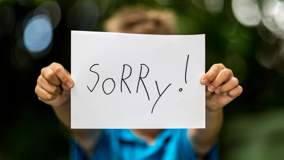 Unnecessary Apology