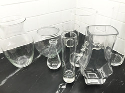Variety of clear glass