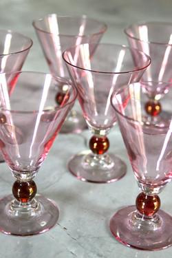 vintage cranberry & pink